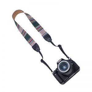 Vko Camera Bandoulière pour Nikon D810D750D5D4S D4D500D7200D800D800E DF D610D7100D7000D5600D5500D5300D5200D5100D5000D3400D3300D3200D3100D3000vintage Tour de cou de la marque VKO image 0 produit