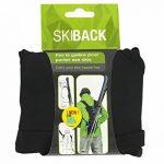 Wantalis - Skiback - Un produit révolutionnaire pour porter vos skis en libérant vos mains - Bretelles adaptables et réglables de la marque image 6 produit
