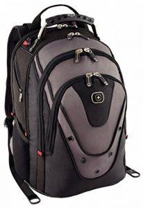 """Wenger 600628 Update 15"""" MacBook Pro sac à dos, anti-rayures, revêtement avec 10"""" dédié iPad poche en noir / gris {20 Litres} de la marque Wenger image 0 produit"""