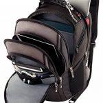"""Wenger 600628 Update 15"""" MacBook Pro sac à dos, anti-rayures, revêtement avec 10"""" dédié iPad poche en noir / gris {20 Litres} de la marque image 1 produit"""