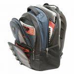 """Wenger 600629 COBALT 16"""" Laptop Backpack, compartiment Triple protéger avec plate-forme de stabalising cas en bleu {23 Litres} de la marque Swiss Gear image 2 produit"""
