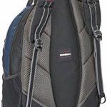 """Wenger 600629 COBALT 16"""" Laptop Backpack, compartiment Triple protéger avec plate-forme de stabalising cas en bleu {23 Litres} de la marque image 1 produit"""