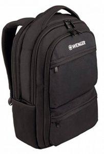 """Wenger 600630 Fuse 16"""" Laptop Backpack, compartiment pour ordinateur portable rembourré avec iPad/tablette / eReader de poche en noir {16 Litres} de la marque image 0 produit"""
