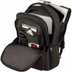 """Wenger 600630 Fuse 16"""" Laptop Backpack, compartiment pour ordinateur portable rembourré avec iPad/tablette / eReader de poche en noir {16 Litres} de la marque image 4 produit"""