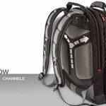 """Wenger 600635 SYNERGY 16"""" Laptop Backpack, compartiment pour ordinateur portable rembourré avec iPad/tablette / eReader de poche en noir / gris {26 Litres} de la marque image 6 produit"""