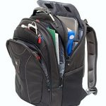 """Wenger 600637 Carbon 17"""" MacBook Pro sac à dos, compartiment pour ordinateur portable rembourré avec plate-forme de stabalising cas en noir {25 Litres} de la marque Wenger image 1 produit"""