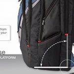"""Wenger 600638 IBEX 17"""" Laptop Backpack, compartiment Triple protéger avec iPad/tablette / eReader Pocket en bleu {23 Litres} de la marque Freecom image 2 produit"""