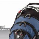 """Wenger 600638 IBEX 17"""" Laptop Backpack, compartiment Triple protéger avec iPad/tablette / eReader Pocket en bleu {23 Litres} de la marque Freecom image 6 produit"""
