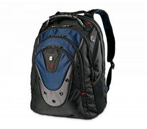 """Wenger 600638 IBEX 17"""" Laptop Backpack, compartiment Triple protéger avec iPad/tablette / eReader Pocket en bleu {23 Litres} de la marque image 0 produit"""