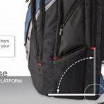 """Wenger 600638 IBEX 17"""" Laptop Backpack, compartiment Triple protéger avec iPad/tablette / eReader Pocket en bleu {23 Litres} de la marque image 2 produit"""