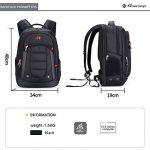 """Winkee SA9360 Sac à dos pour ordinateur portable 15,6"""" Noir de la marque image 6 produit"""