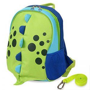Yodo Sac à dos pour enfant avec harnais de sécurité, doublure isotherme à l'intérieur vert Green de la marque Yodo image 0 produit