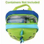 Yodo Sac à dos pour enfant avec harnais de sécurité, doublure isotherme à l'intérieur vert Green de la marque Yodo image 4 produit