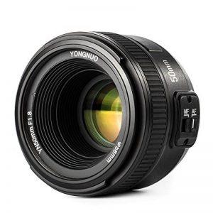 Yongnuo Objectif à focale fixe YN 35 mm F2 grande ouverture AF / MF pour Nikon appareil photo + Sac de transport de la marque Yongnuo image 0 produit