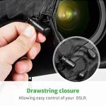 Zecti Housse Objectif Lens Case Pack de 3 poches en jean imperméables pour Objectifs Canon Nikon Sony Olympus Panasonic Fujifilm, Pentax, Leica, Sigma Lens ; Comprend: petit, grand et extra large de la marque Zecti image 2 produit