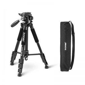 ZOMEI®Q111 Trépied professionnel pour appareil photo et camera avec un sac de transport. Compatible Canon, Nikon et Sony. (noir) de la marque Zomei image 0 produit