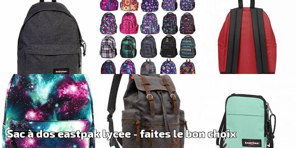 Faites Pour Du Le 2019 À Bon Choix Eastpak Lycee Dos Sac wYgxR4fq4