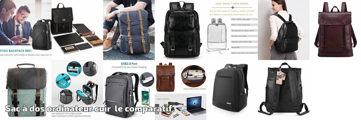 55ccfb5bf0 Sac à dos ordinateur cuir le comparatif pour 2019 | Choix du sac à dos